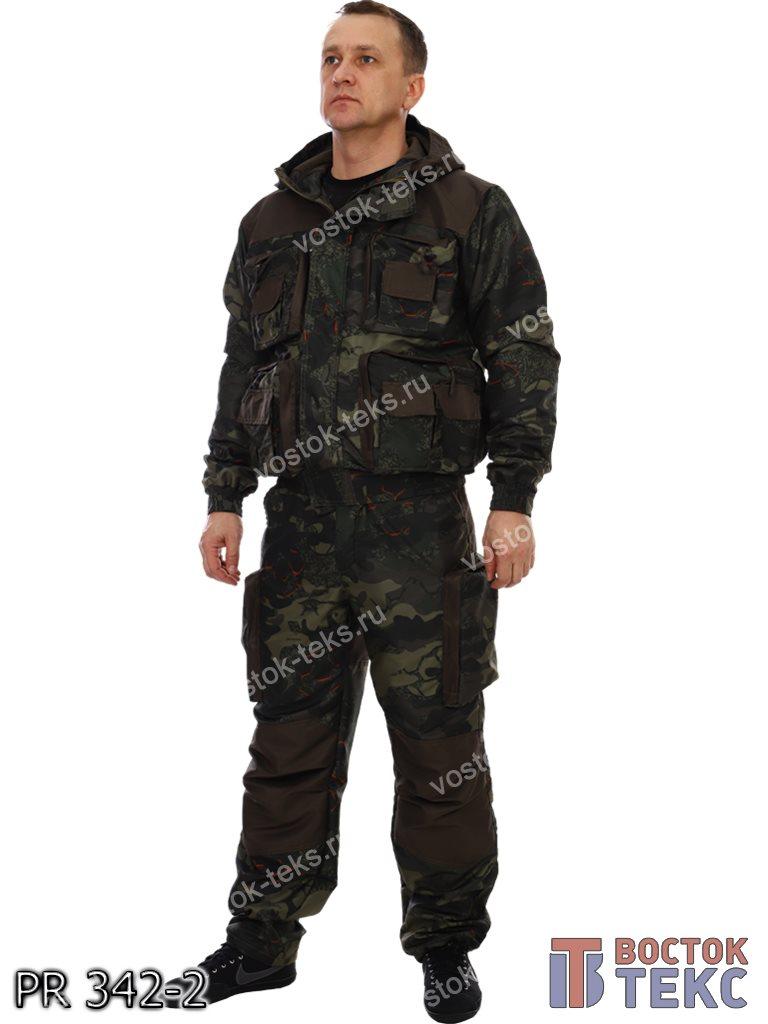 костюм Хантер дмс на флисе (таслан кмф/хаки)