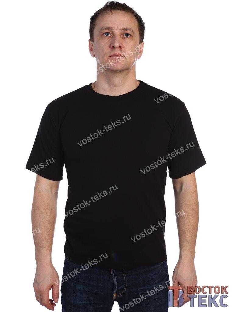футболка (кулирка) черная