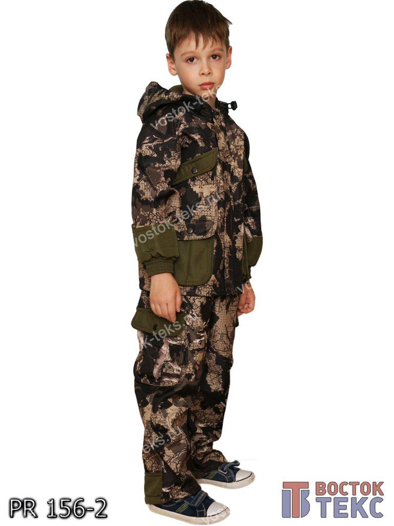 костюм детский Зверобой дмс (полофлис кмф/хаки)