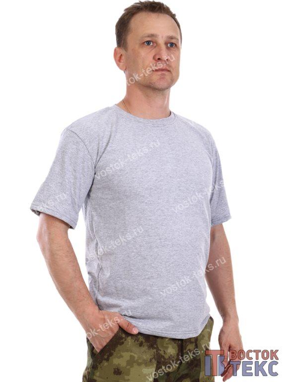 футболка (кулирка) серая