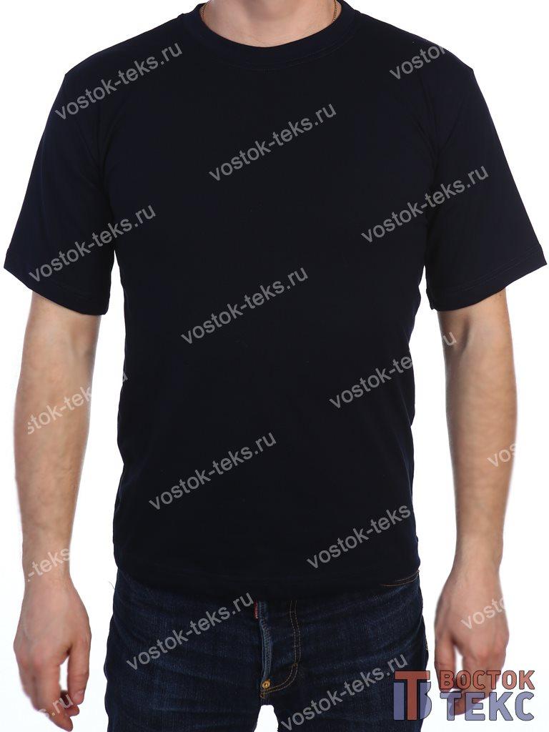 футболка детская (кулирка) темно-синий