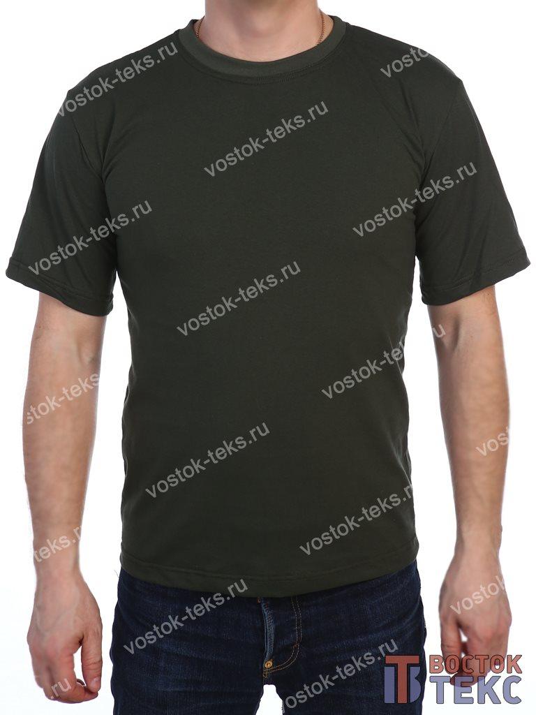футболка детская (кулирка) хаки