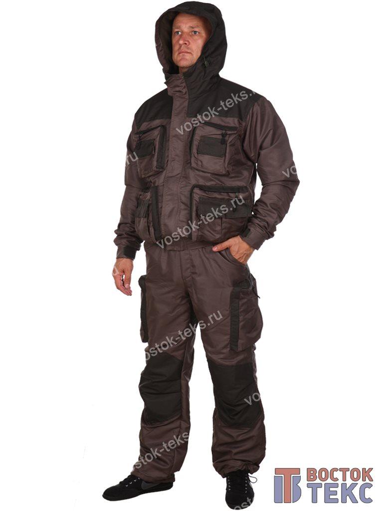 костюм Хантер дмс на флисе (таслан олива/хаки)